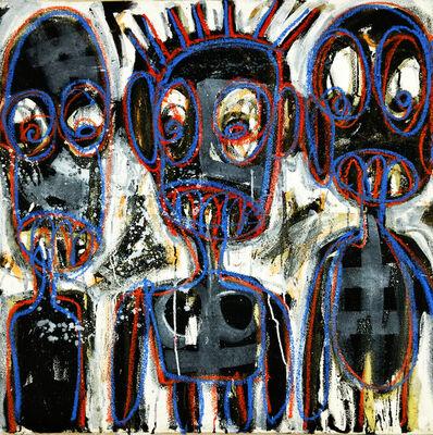 Aboudia, 'X-Rayed Friendship', 2016