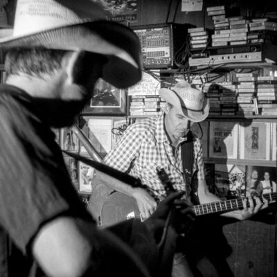 Chad Schaefer, 'Brad Fordham and Roger Wallace at Ginny's Little Longhorn Saloon, Austin, TX', 2008