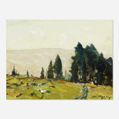 Chauncey Foster Ryder, 'Untitled (spring landscape)'