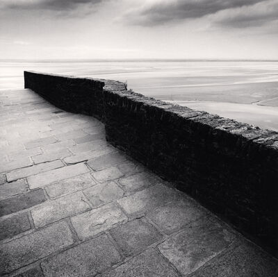 Michael Kenna, 'Winding Wall - Mont St. Michel, France. ', 2004