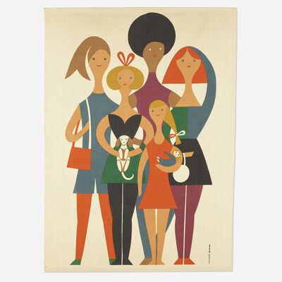 Alexander Girard, 'Girls Environmental Enrichment Panel', 1972