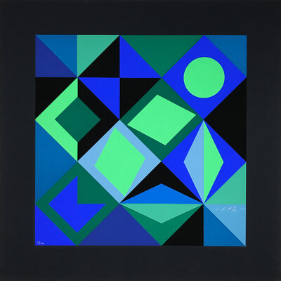 Victor Vasarely, 'Sierra', 1967