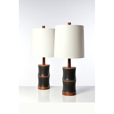Gordon & Jane Martz, 'Pair of table lamps', 1960