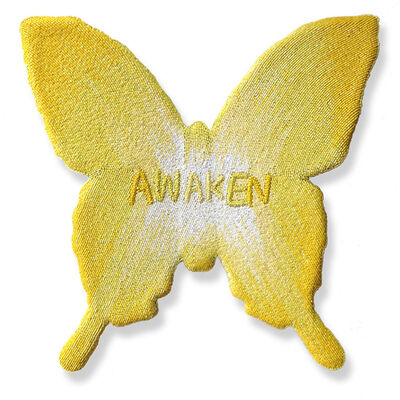 Stephanie Hirsch, 'Awaken (Yellow)', 2015