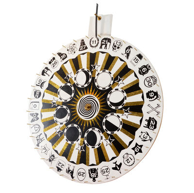 "Dylan Egon, '""Wheel of Fate""', 2008"