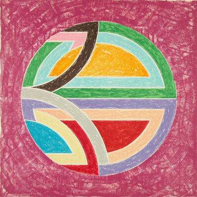 Frank Stella, 'Sinjerli Variation Squared with Colored Ground I', 1981