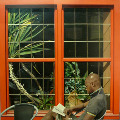 Marcos Cárdenas, 'Red window'