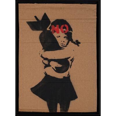 Banksy, 'Bomb Hugger, N°', 2003