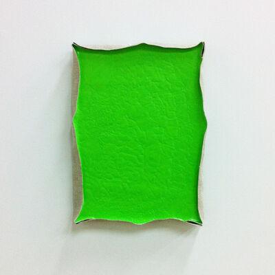 Satoshi UCHIYAMA, 'Pump Painting Green', 2014
