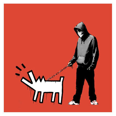 Banksy, 'Choose Your Weapon (Red) ', 2010