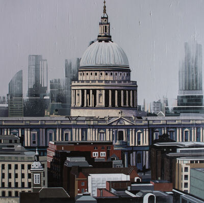 Neil Douglas, 'View of St. Paul's Cathedral 2', 2019