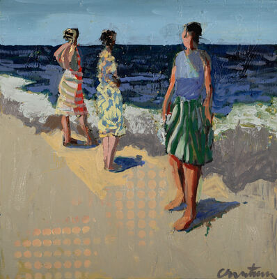 Linda Christensen, 'Beach Below', 2020