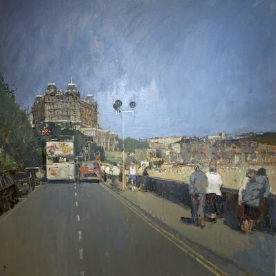 Thomas J. Coates, 'Road Leading to the Grand Hotel, Scarborough, Yorkshire', Contemporary