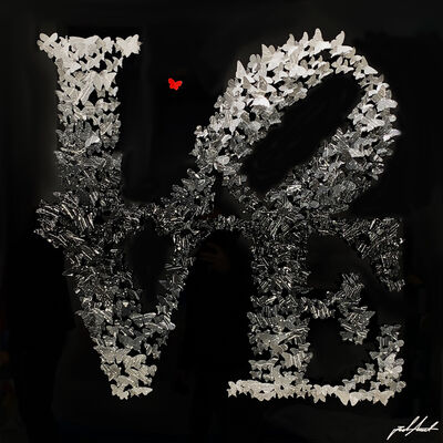 Joel Amit, 'L O V E ', 2021
