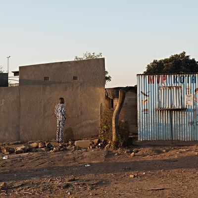 Jabulani Dhlamini, 'Ingwe idea ngamabala-idube eWinnie. Thembisa, Johannesburg', 2018