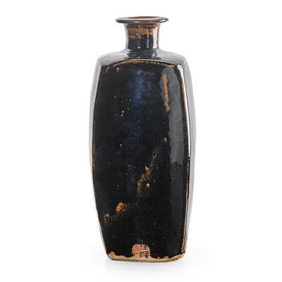 Leach Pottery, 'Large vase, Tenmoku glaze, St. Ives, England', 1970s