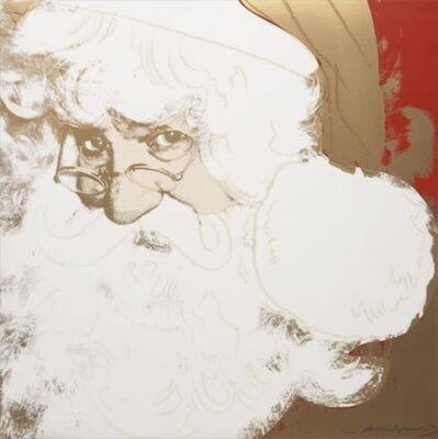 Andy Warhol, 'Myth Portfolio- Santa Claus', 1981