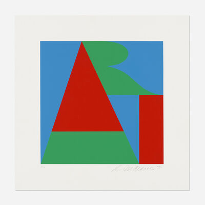 Robert Indiana, 'The Bowery Art (from On the Bowery)', 1971