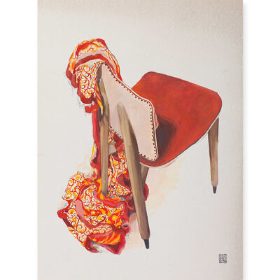 Broken Fingaz, 'Empty chair', 2016