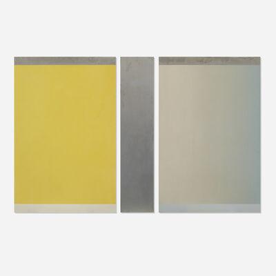 Frederick Spratt, 'Semaphor: August (triptych)', 1973