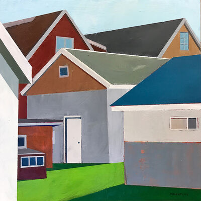 Justin Wheatley, 'Out the Back Window', 2021