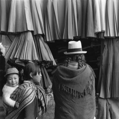 Mario Algaze, 'Polleras, Cuzco, Peru', 1985