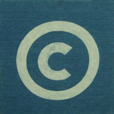 General Idea, 'Copyright (Collector)', 1986