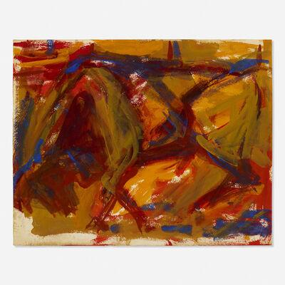 Elaine de Kooning, 'Untitled (Bull)', c. 1957