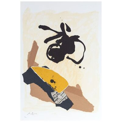Robert Motherwell, 'Untitled, from: 12th Anniversary Galeria Joan Prats 1976-88 Portfolio', 1986