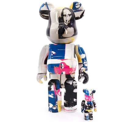 BE@RBRICK, 'Andy Warhol Double Mona Lisa (Color) 400% + 100%', 2019