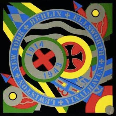 Robert Indiana, 'Kvf X - The Hartley Elegies: the Berlin Series', 1990-1991