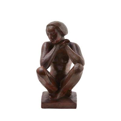 Georg Kolbe, 'Sitzende', 1923