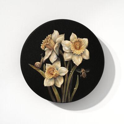 Salustiano, 'Narcisos con caracol', 2020