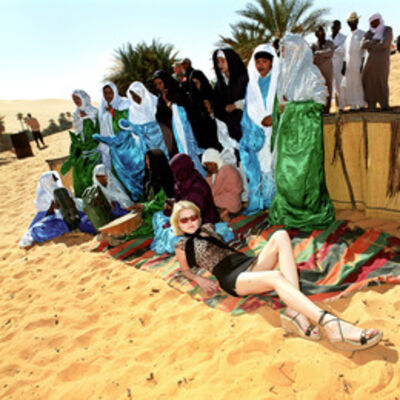 Muir Vidler, 'Gorana Relic, Miss Net Croatia in Libya'