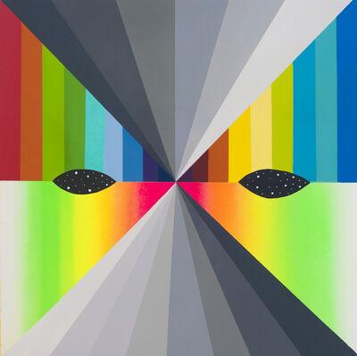 Okuda San Miguel, 'X Mask 18 (XVI)', 2018