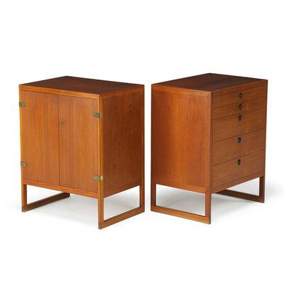 Börge Mogensen, 'Pair of cabinets, Denmark', 1950s