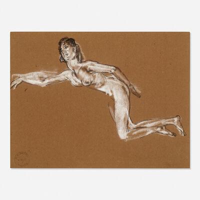 Arthur Bowen Davies, 'Reclining Nude', c. 1907