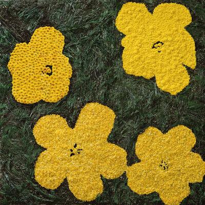 Vik Muniz, 'Flowers, after Warhol (9)', 2012