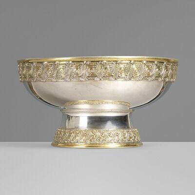 Tiffany & Company, 'Parcel-gilt silver punch bowl', c. 1882