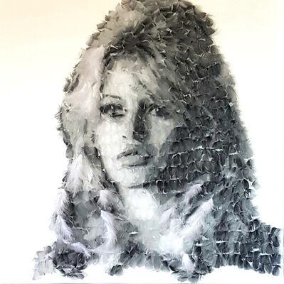 Marie-Ange Daudé, 'BARDEAU PLUME', 2018