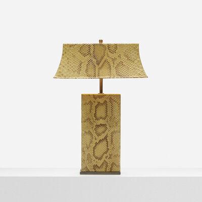 Karl Springer, 'Python Table Lamp', c. 1970