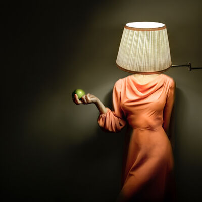 Alicia Savage, 'Lamp Girl', 2012