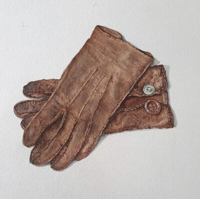 Cathy Ross, 'Child's Gloves', 2019