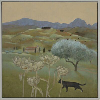 Tom Mabon, 'Ever darkening tints below the Apennines', 2020