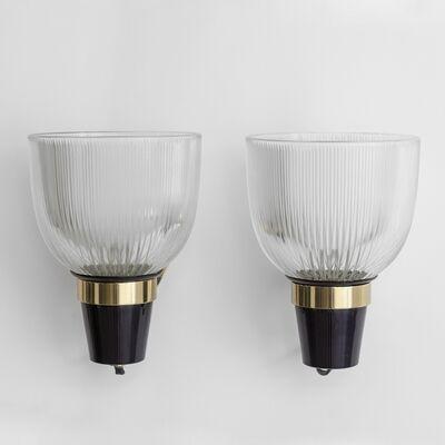 Ignazio Gardella, 'A pair of wall lights  'LP5' moodel', 1954