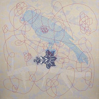 Ana Karina Lema Astray, 'Pájaro en azul', 2019