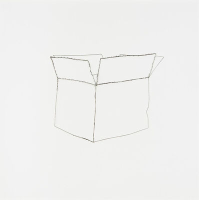 """Vik Muniz, 'Paper Box (from """"Pictures of Wire"""")', 1995"""