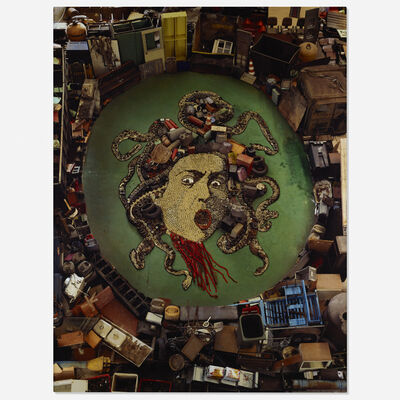 Vik Muniz, 'Medusa, after Caravaggio (Pictures of Junk)', 2009