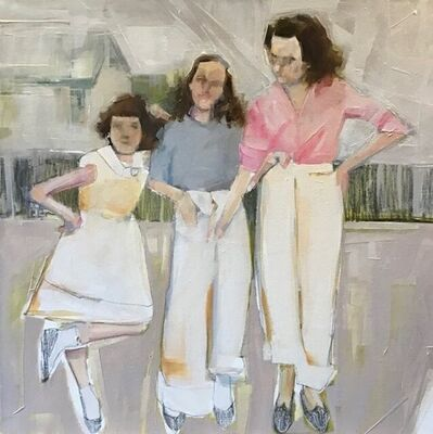 Ruth Shively, 'Girls in Spring', 2020