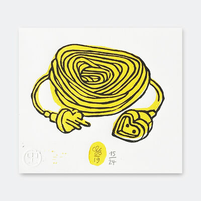 Soeren Behncke, 'Love Extension Yellow Version', 2019